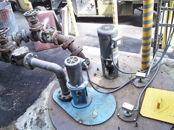 vertical column pump repair
